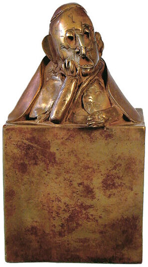 Paul Wunderlich: Sculpture 'Ecce Homo', bronze