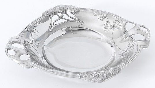Art nouveau bowl 'Poppy Flower'