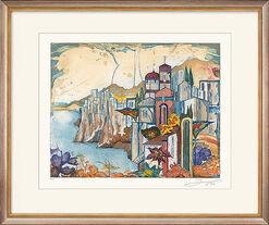 "Bild ""Toskanische Landschaft"" (2004), ungerahmt"