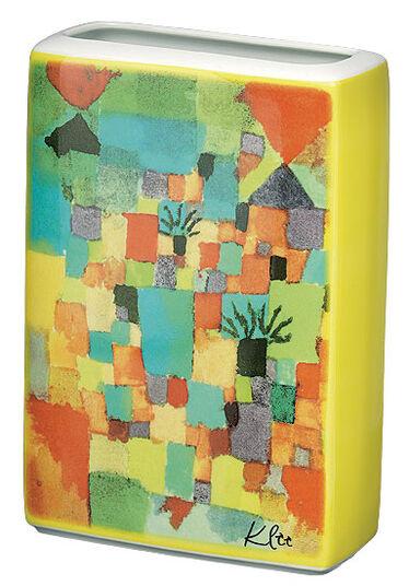 """Paul Klee: Porzellanvase """"Tunesischer Garten"""""""