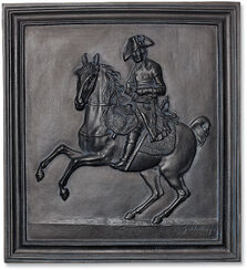 Wall relief 'Frederick the Great on Horseback' (1807)