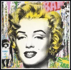 "Bild ""Marilyn Monroe"" (2017) (Unikat)"