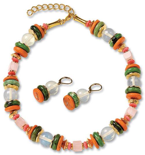 "Petra Waszak: Jewelry Set ""Delaunay"""