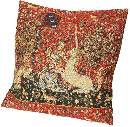 "Cushion cover ""The Lady and the Unicorn"", Theme 1"