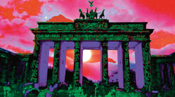 "Painting ""The Brandenburg Gate"""
