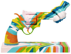 "Sir Paul McCartney: Skulptur Knotted Gun ""Music for Peace"""