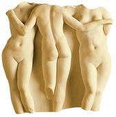"""Replikat """"Die drei Grazien"""", Kunstmarmor"""