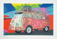 """Bild """"Hippie-Bus"""" (2015)"""