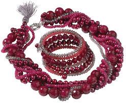 "Jewelry Set ""Berry"""