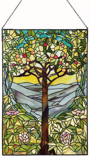 Louis C. Tiffany: Window picture 'The Tree of Life', 1903