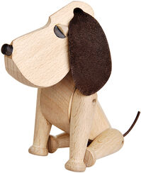 "Wood Sculpture ""Hund Oscar"""
