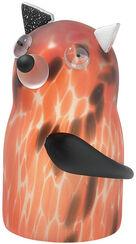 "Glass object ""Dog Peppino"" orange version"
