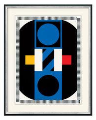"""Bild """"Route Bleu"""" (1973)"""