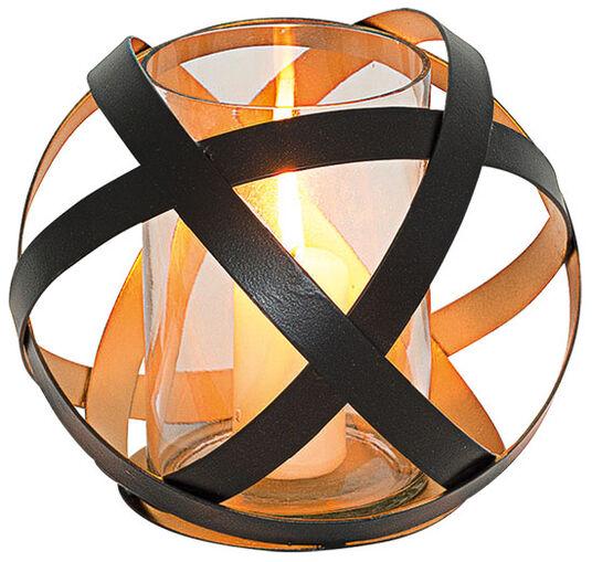 Glas-Windlicht (große Version, Höhe 20 cm, Ø 18 cm)