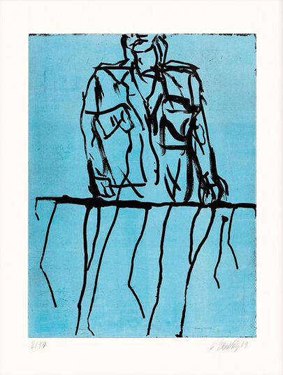"Georg Baselitz: Bild ""Offener Kragen"" (2010)"