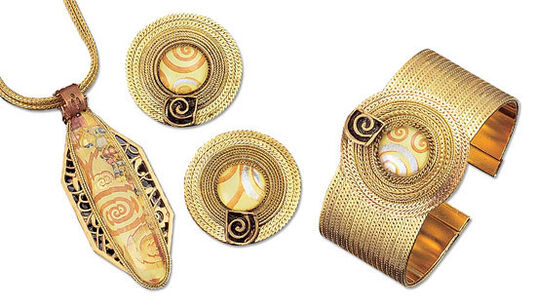 Petra Waszak: Jewelry set 'The Fulfillment'