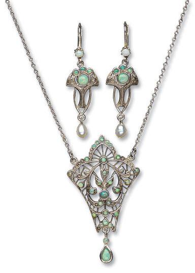 """Jewelry set """"Fleur"""""""