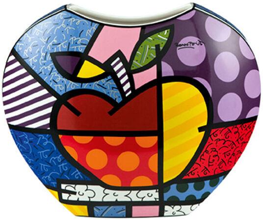"Romero Britto: Porzellanvase ""Big Apple"""