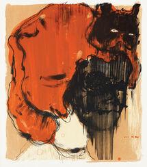"Bild ""Ohne Titel (rot)"" (2013)"