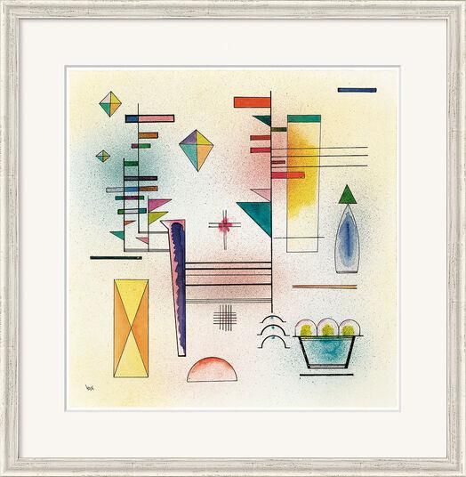 "Wassily Kandinsky: Bild ""Klangvoll"" (1929), gerahmt"