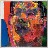"Bild ""J. L. Blue"" (2007) (Unikat)"
