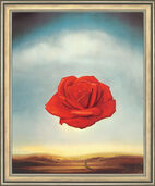 "Art print ""The Meditative Rose"" (1958), framed"