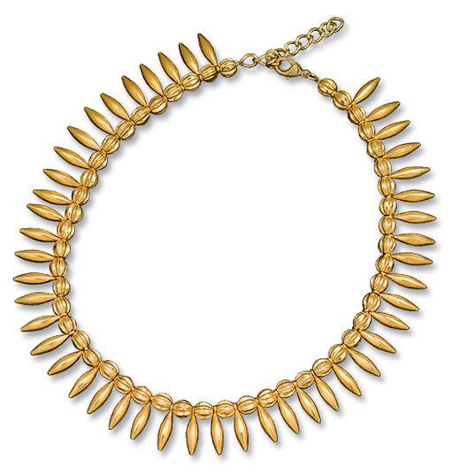 """Petra Waszak: Necklace """"Helios Suns Parure"""""""