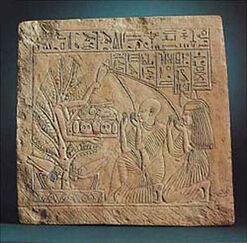 Isis as tree goddess