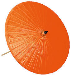 Thai Market Umbrella, Orange Version
