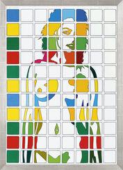 "Bild ""Akt, quadratisch"" (2012) (Unikat)"