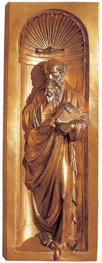 """Lorenzo Ghiberti: """"Patriarch (II) von der Paradiespforte"""""""