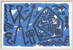 """Bild """"Pentagon blau"""" (1995/96)"""
