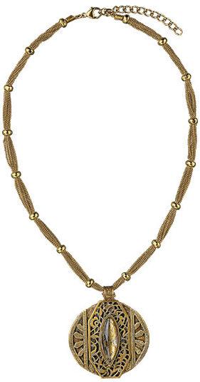 """Petra Waszak: Necklace """"Gold Rush"""""""