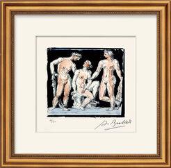 """Bild """"Die drei Grazien"""" (1980)"""