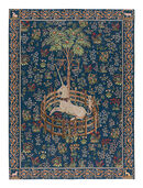 "Tapestry ""The Caught Unicorn"" (1495-1505), version in blue"
