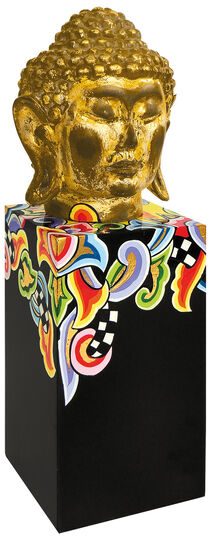 "Thomas Hoffmann / Tom's Drag: ""Buddha-Stele"" (klein, Höhe 35 cm)"