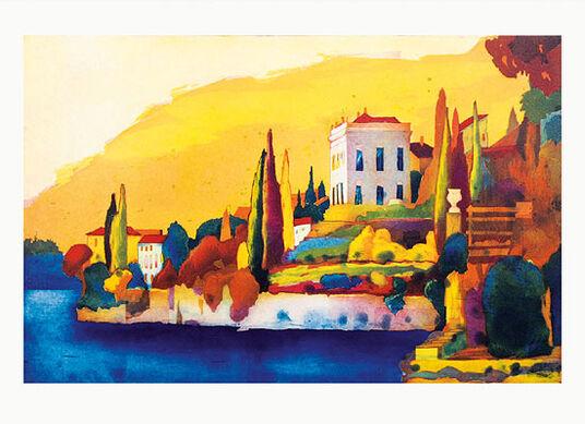 "Gerhard Hofmann: Bild ""Lago di Como"", ungerahmt"
