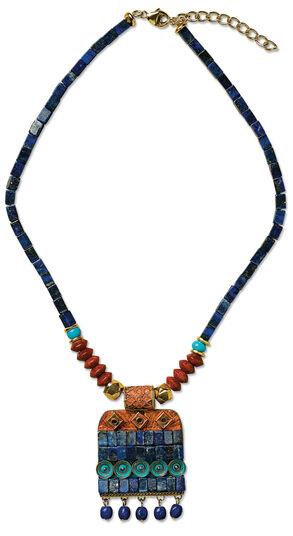 "Petra Waszak: Necklace ""Hathor"""