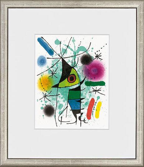"Joan Miró: Painting ""Le chanteur – The Singing Fisch"", 1972"