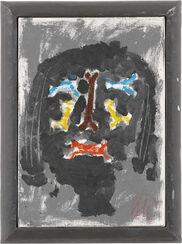 """Bild """"Parsifal - Männer ohne Frauen"""" (1993) (Unikat)"""