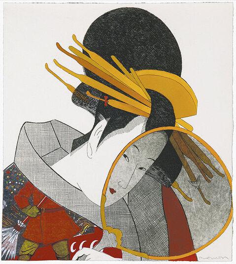 "Fernando Bellver: Bild ""Geisha Soviética"" (2009), ungerahmt"