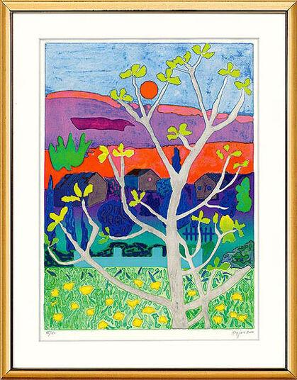 """Tom Krøjer: Bild """"Provence II"""" (2000), ungerahmt"""