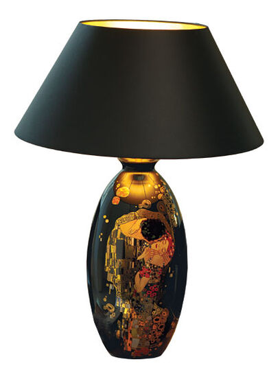 "Gustav Klimt: Desk lamp ""The Kiss"""