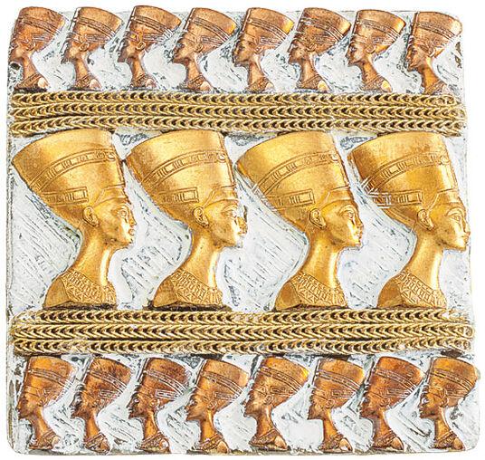 """Petra Waszak: Brosche """"Nefertiti"""""""