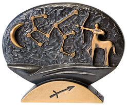 "Zodiac sign sculpture ""Sagittarius"" (24.10.-22.11.), bronze"