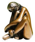 """Sculpture """"La Sogna"""", bronze"""