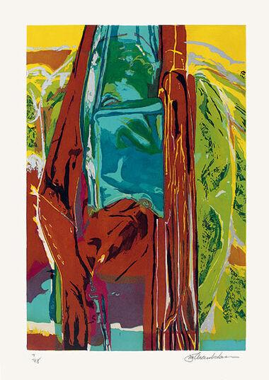 "John Chamberlain: Bild ""Ohne Titel"" (1964)"