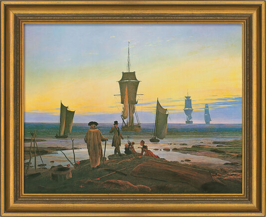 "Caspar David Friedrich: Picture ""Stages of Life"" (1835)"