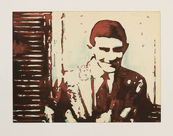"Bild ""Kafka lacht"", 2005, ungerahmt"