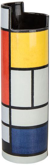 "Piet Mondrian: Keramikvase ""Komposition"""